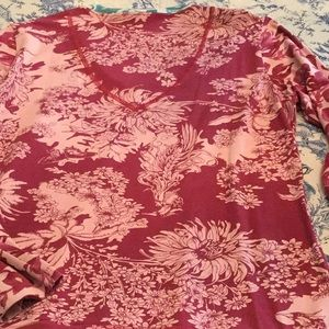 Oilily Tops - Oilily Floral Longsleeve T-Shirt